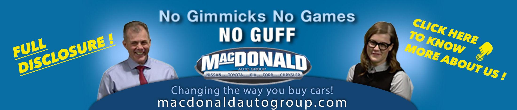 macdonald auto group