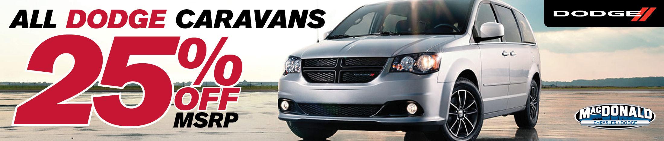 Dodge Caravan Promo July