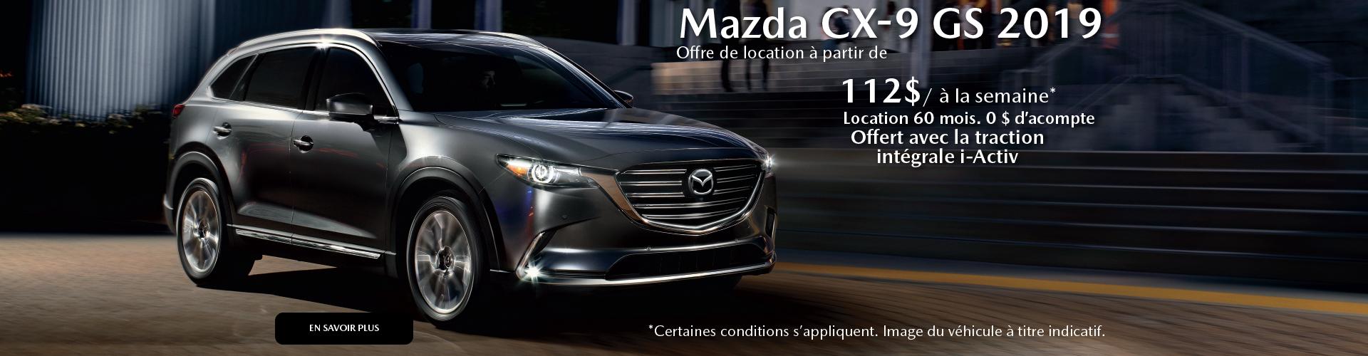 2019 Mazda CX-9 FR