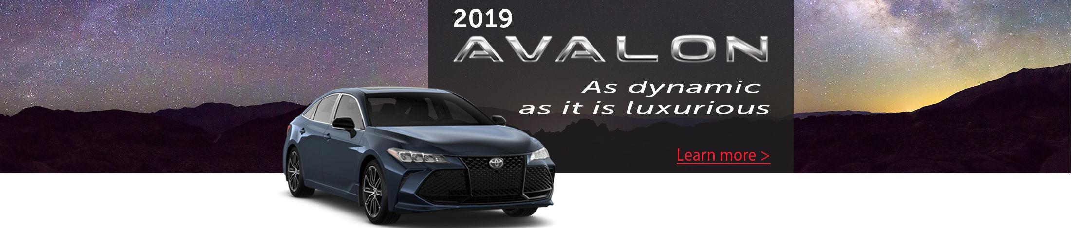 2019 Avalon