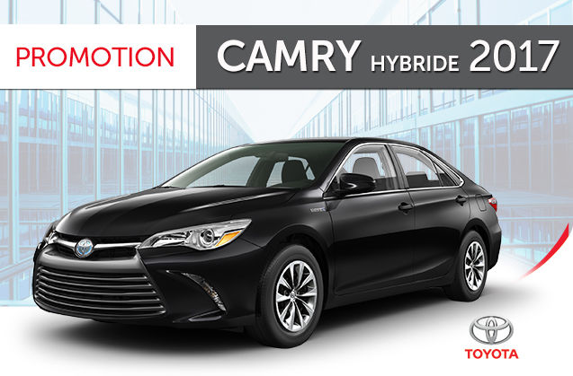promotion camry hybride le 2017 longueuil toyota neuf longueuil. Black Bedroom Furniture Sets. Home Design Ideas