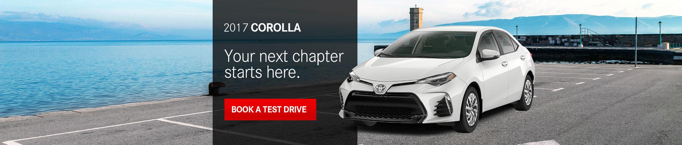 Header Corolla 2017