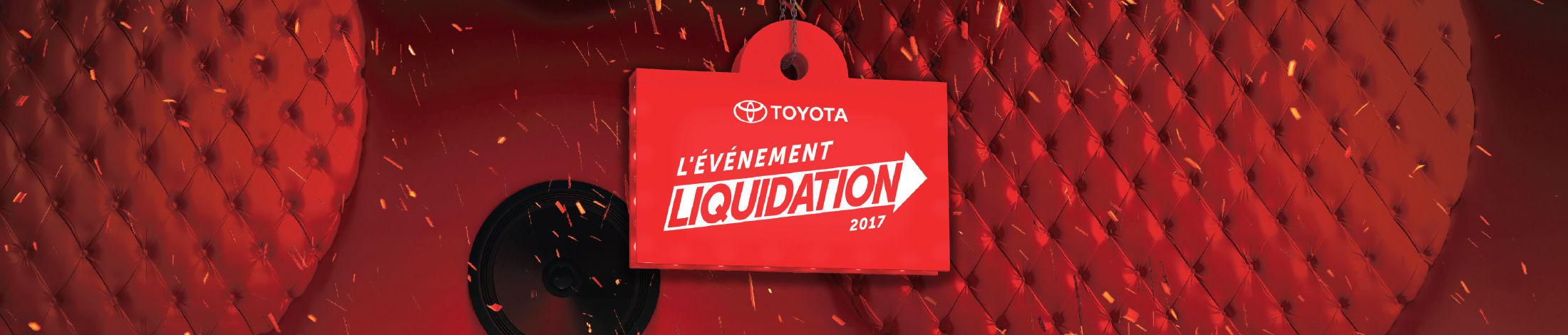 L'événement liquidation 2017