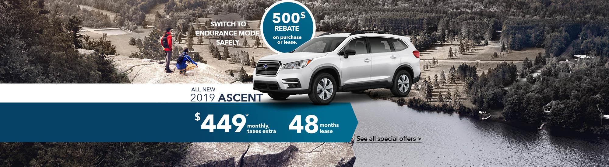 All-new 2019 Ascent | Subaru