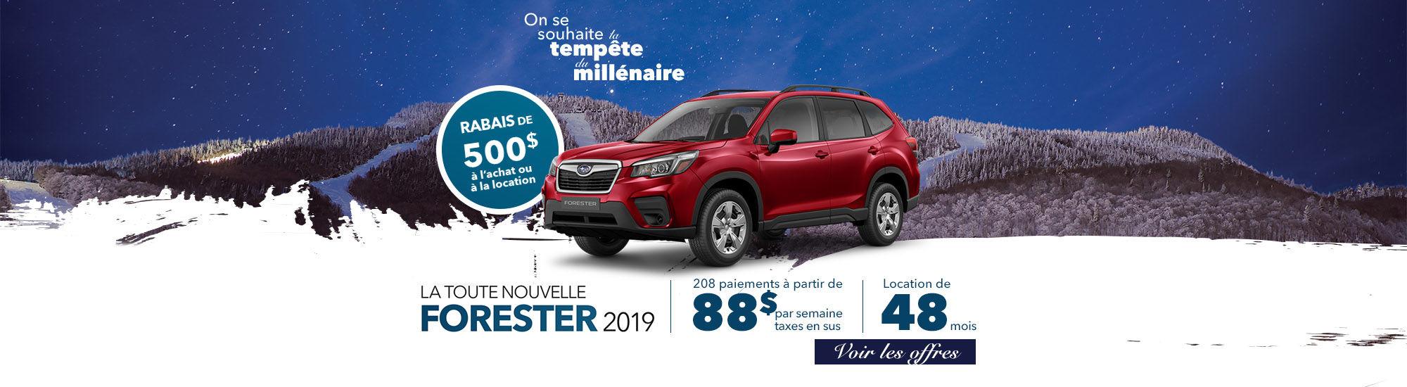 La toute nouvelle Forester 2019 | Subaru