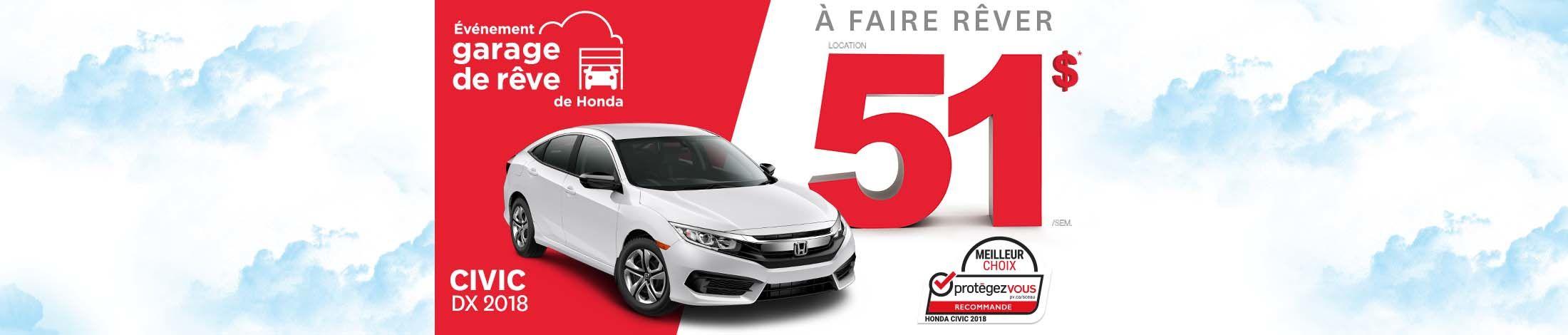 Honda Civic promotion