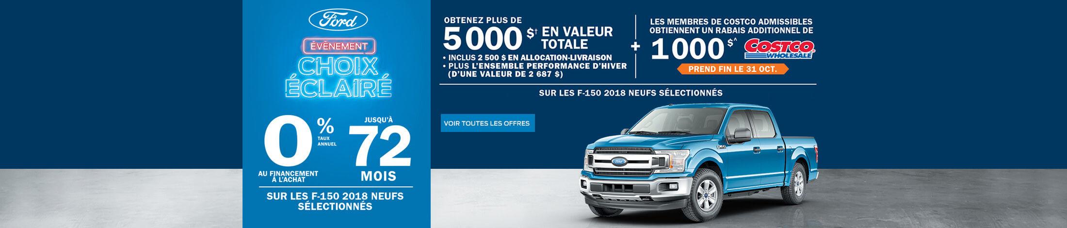 Ford-Événement choix Éclairé