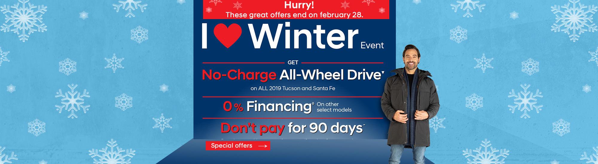 Hyundai i love winter Event