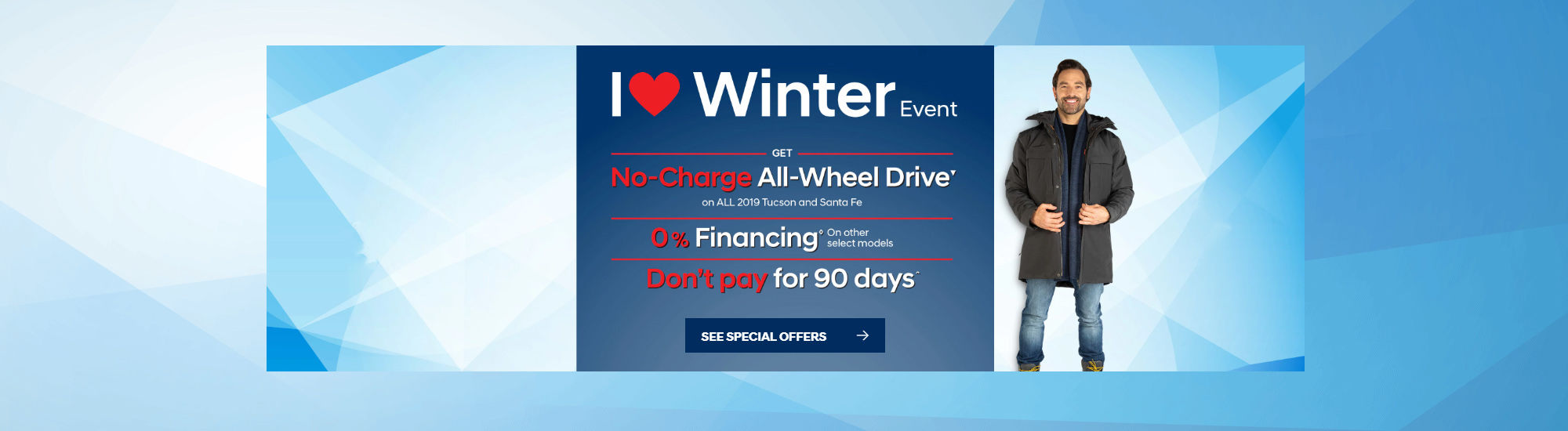 Hyundai i love winter Event