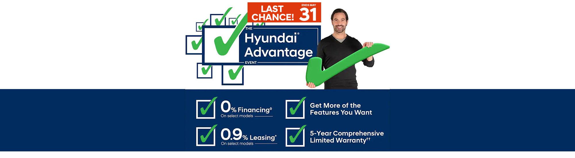 Hyundai advantage Event