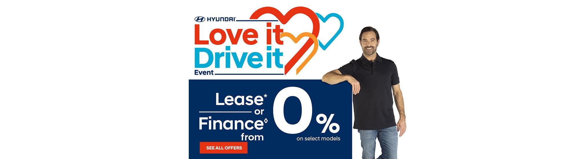 Hyundai LOVE IT DRIVE IT Event