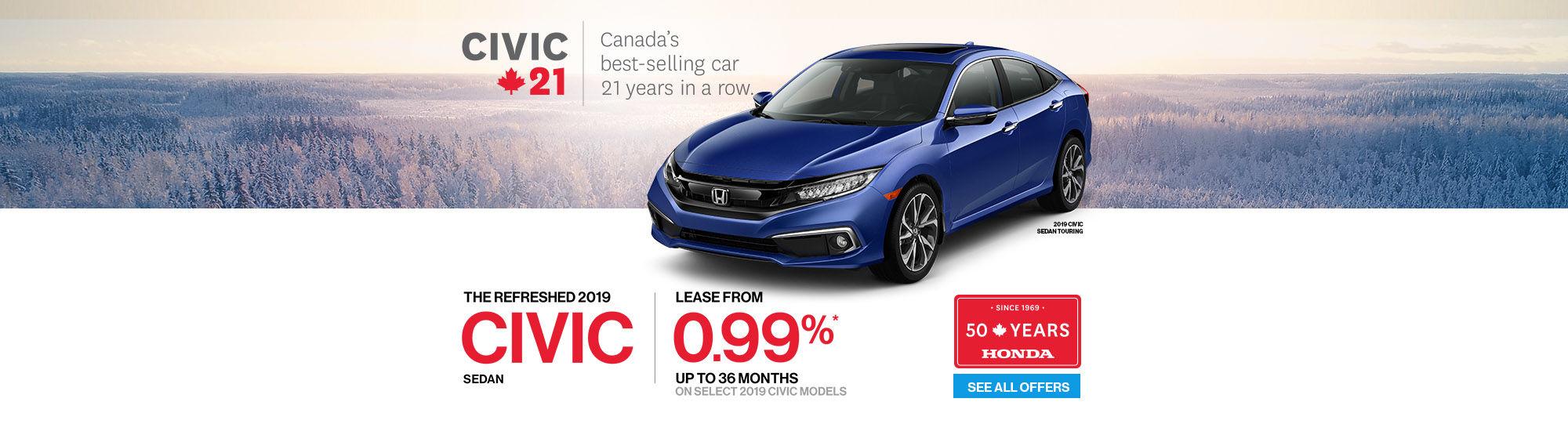 Honda 50 years