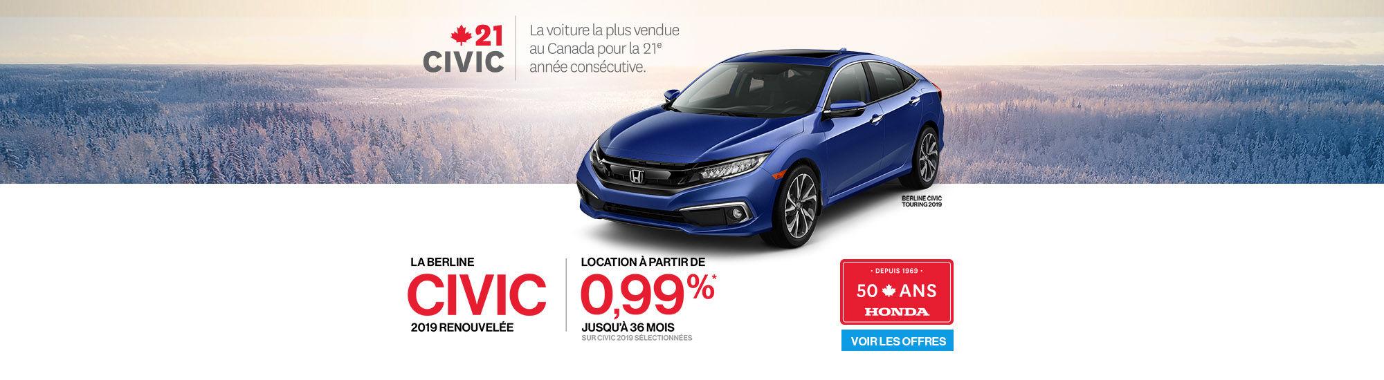 Honda 50 ans
