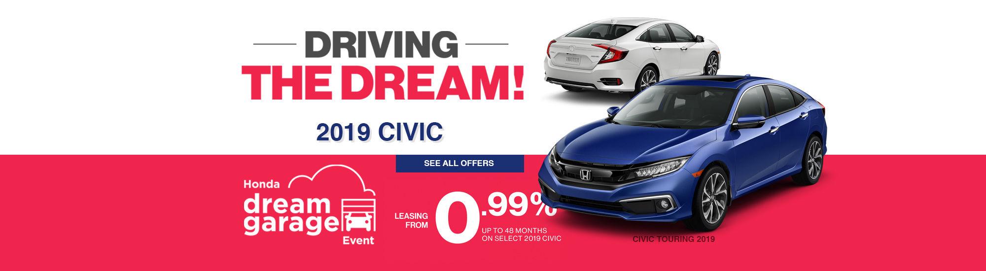 Honda Driving the dream