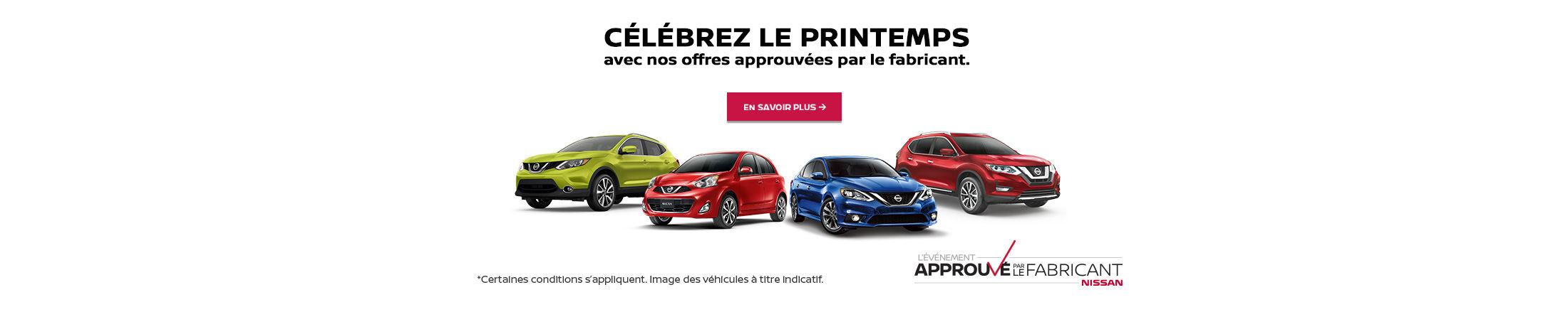 L'événement approuvé par le fabricant Nissan (Betty)