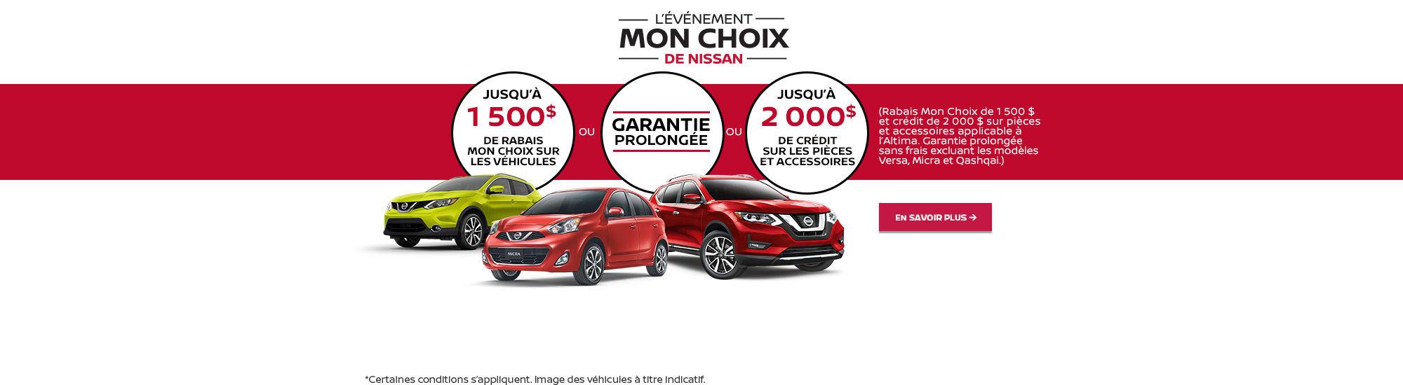 L'événement mensuel Nissan (Charly)
