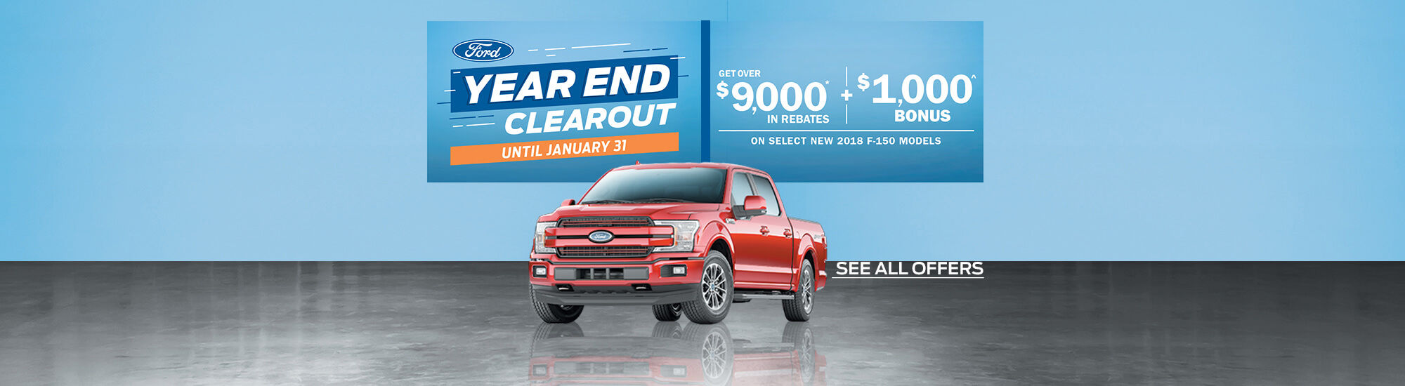 Year End clearout Ford