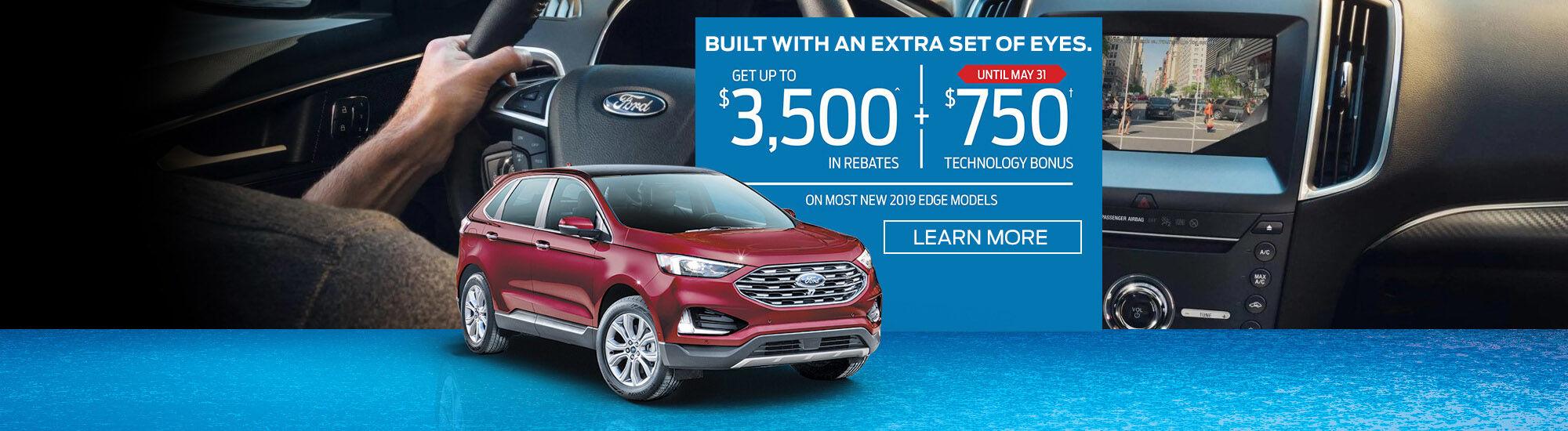 2019 Edge Ford offer
