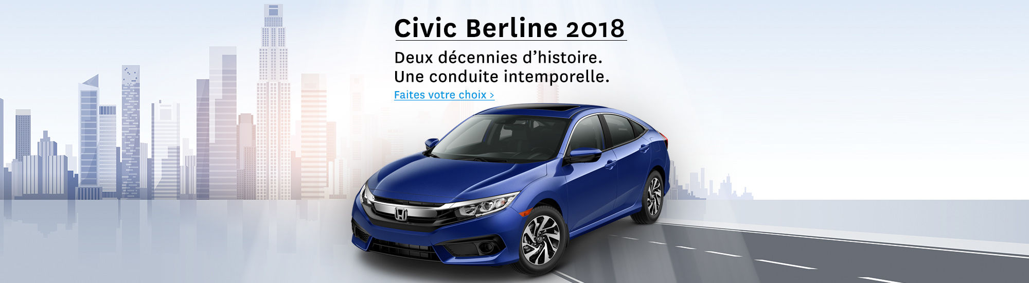Civic berline 2018