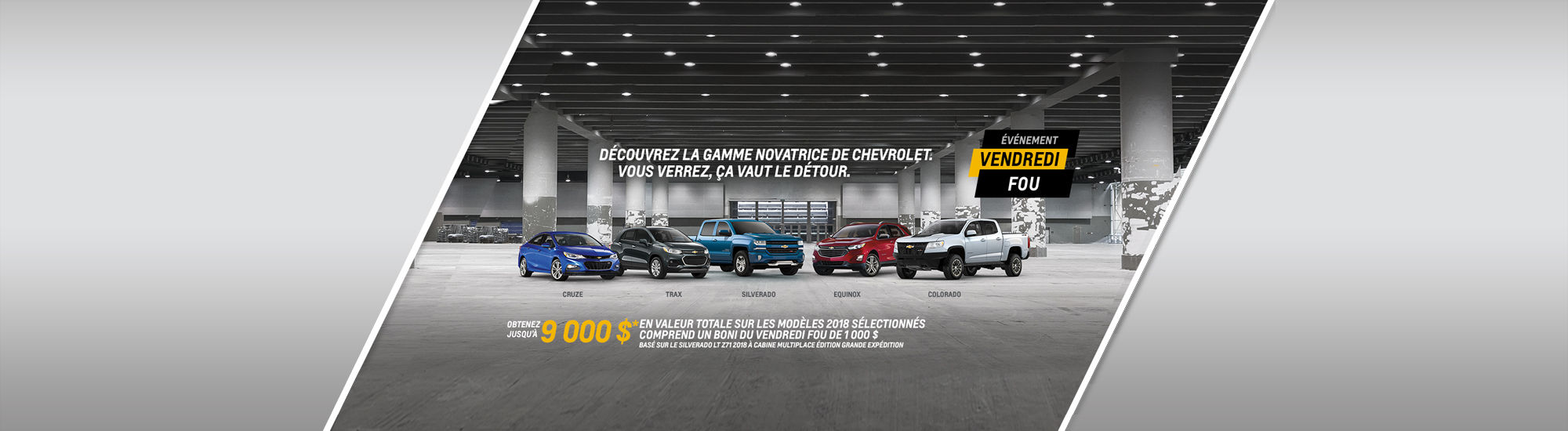 Événement Chevrolet
