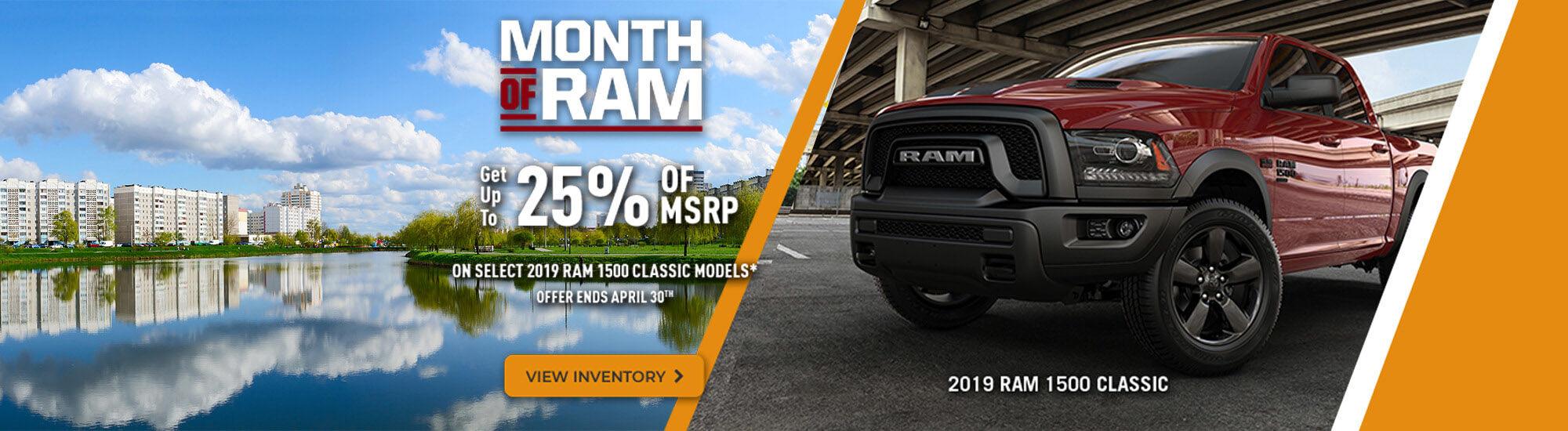 Ram month of Ram