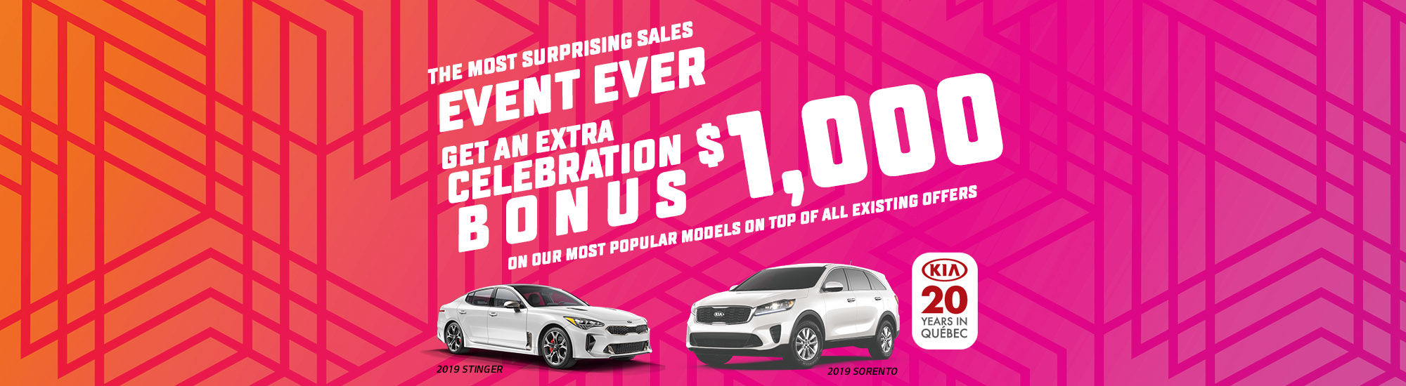 Kia the most surprising sales event ever