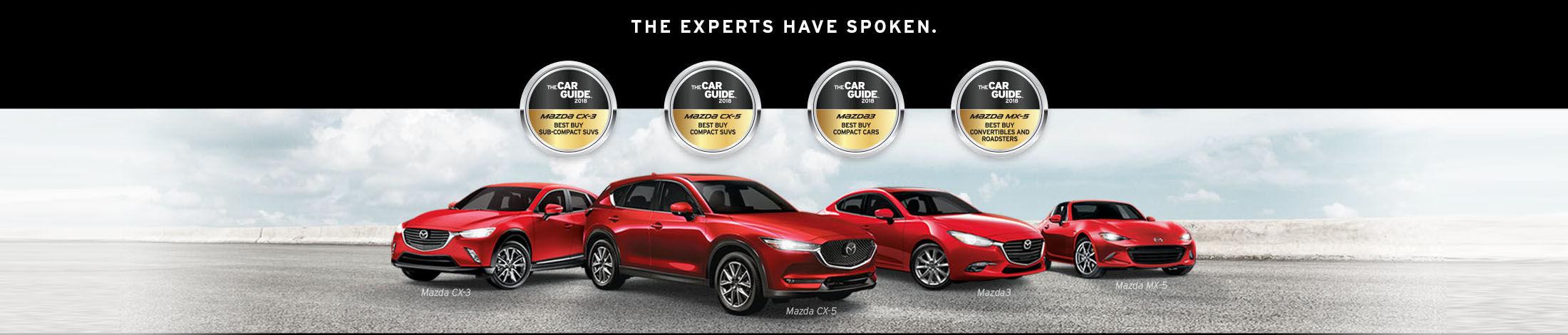 Mazda's 2018 Car guide
