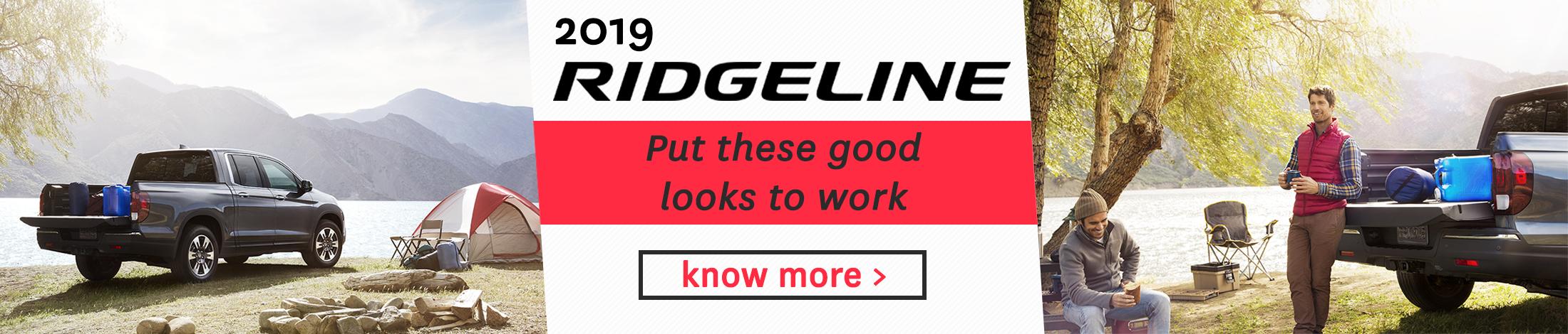 2019 Ridgeline