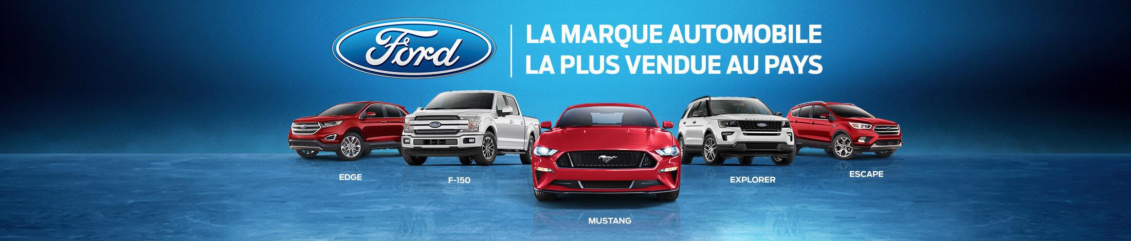 Ford | La marque automobile la plus vendue au pays