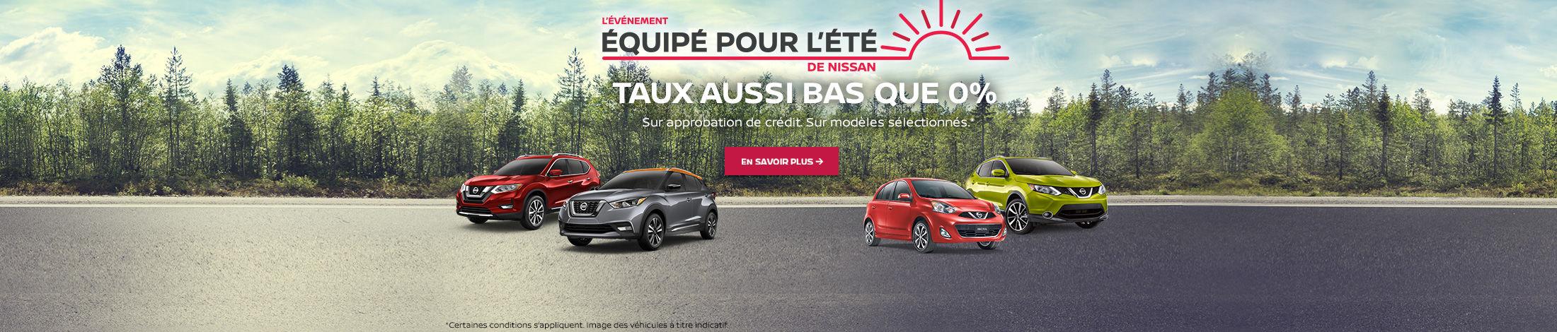 L'événement menseul Nissan (Betty-QC)