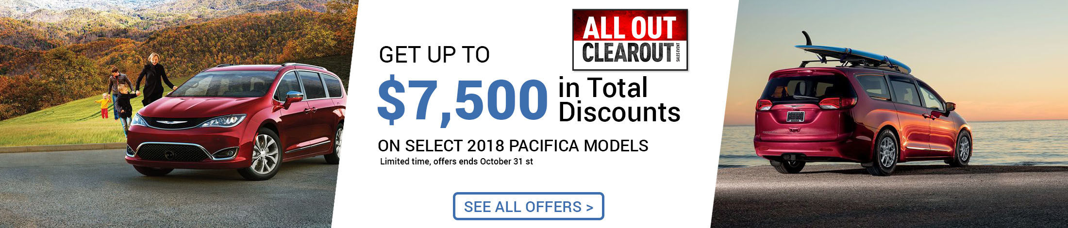 Chrysler all clearout event