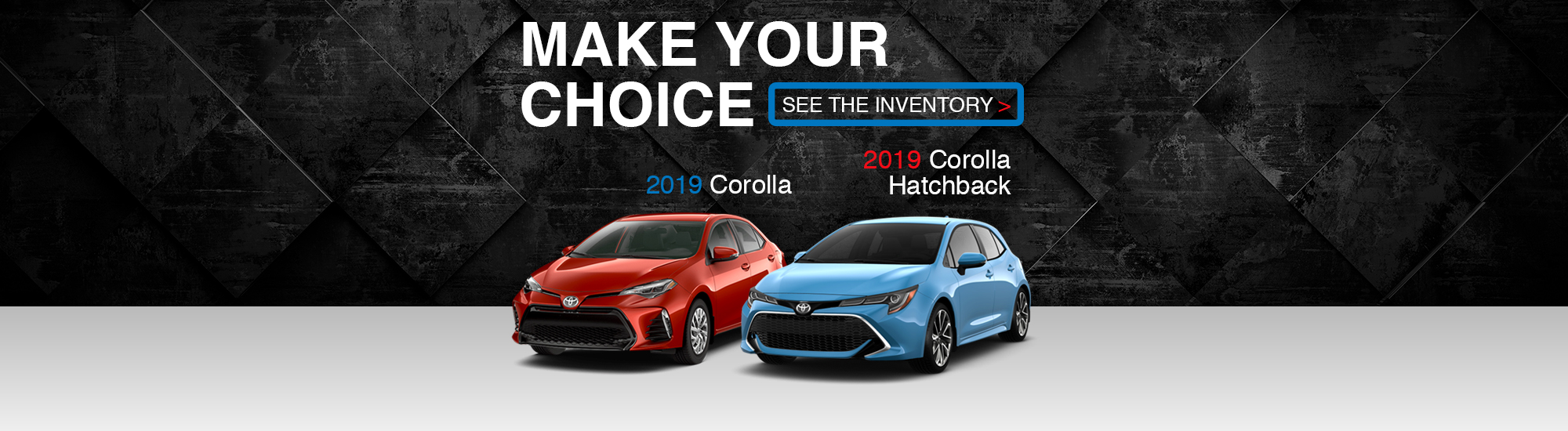 Corolla's 2019