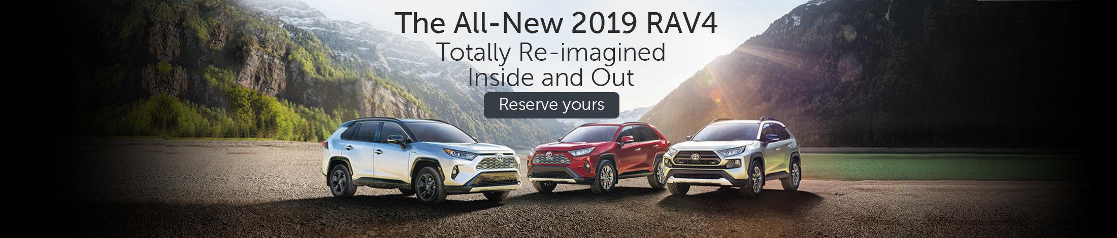 The all-new 2019 RAV4