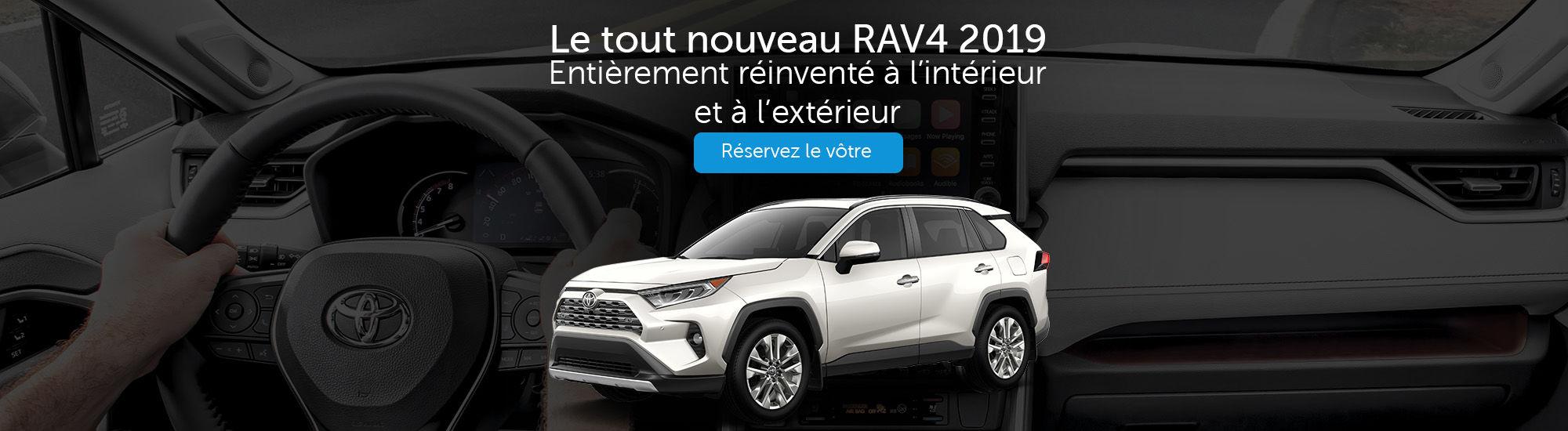 Le tout nouveau RAV4 2019