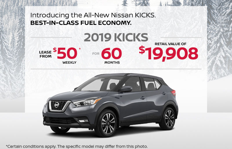 Get The 2019 Kicks Today Norauto Nissan Promotion In Amos