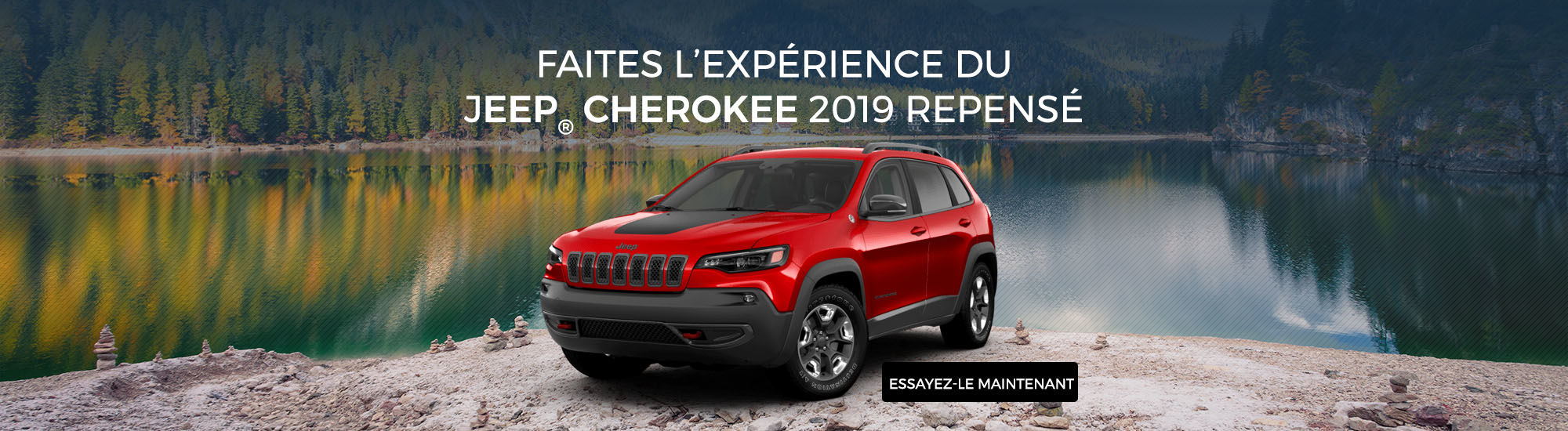 Jeep Cherokee 2019 repensé