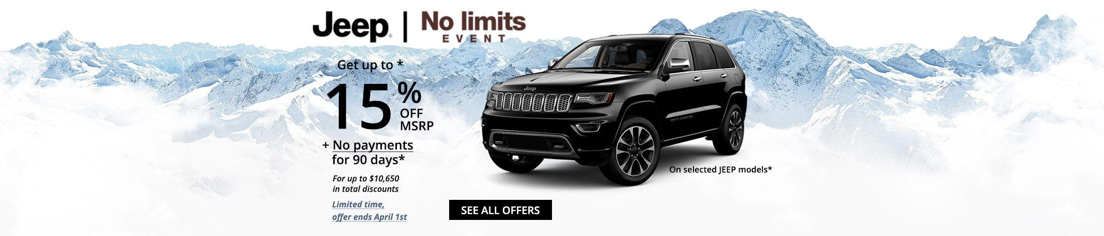 Jeep no limits event