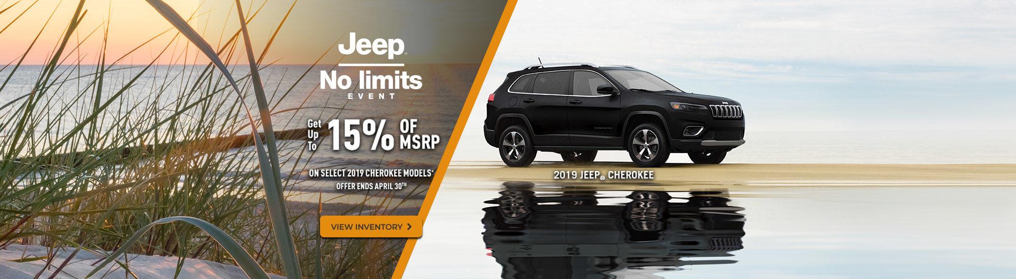 Jeep no limits events