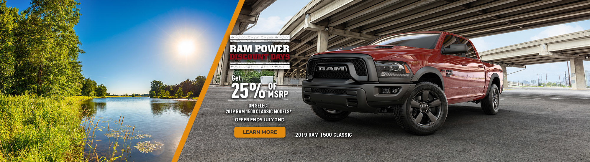 RAM power discount days