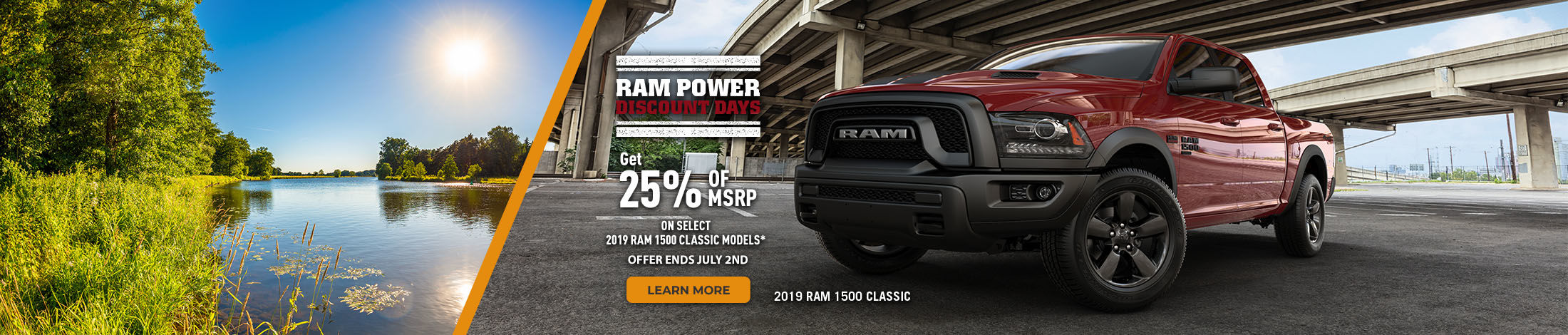 RAM power discount days
