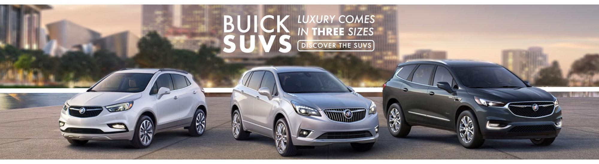 SUVS Buick 2019