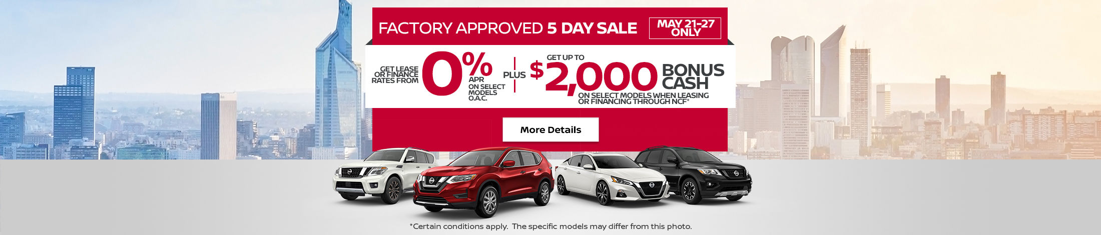 Nissan Monthly Event (Betty-NB) (5-day)
