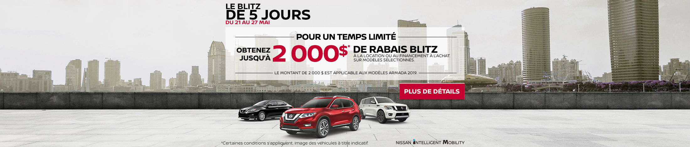 L'événement mensuel Nissan (Betty-QC) (5-day)
