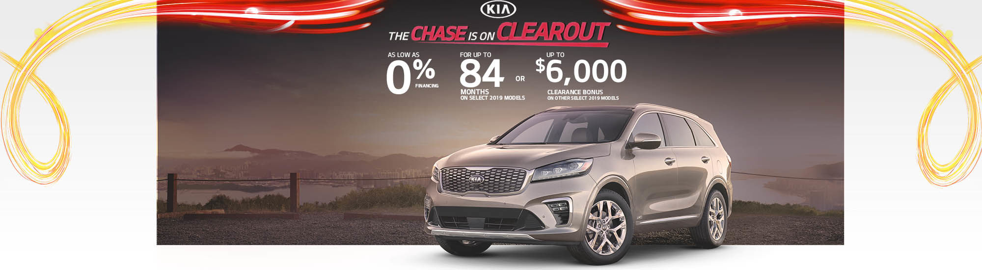 The chase is on clearout Kia