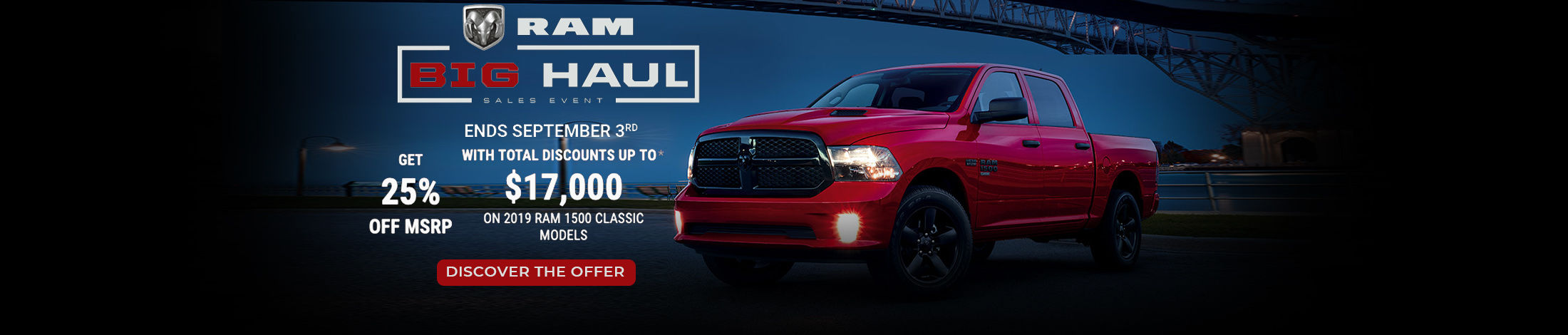 RAM Big Haul event