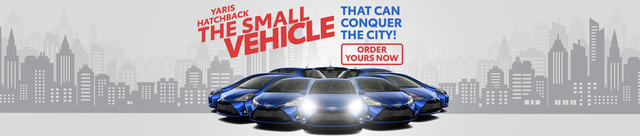 yaris hatchback Toyota