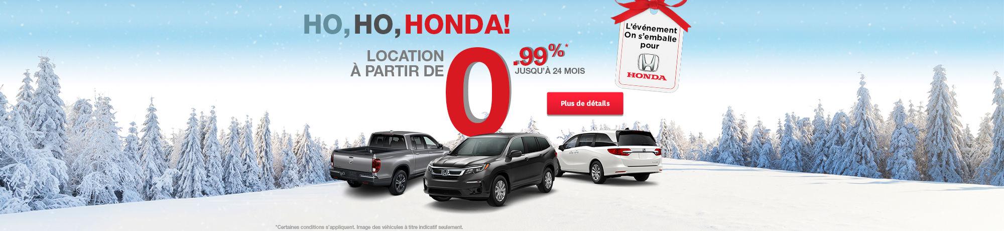 Événement Honda