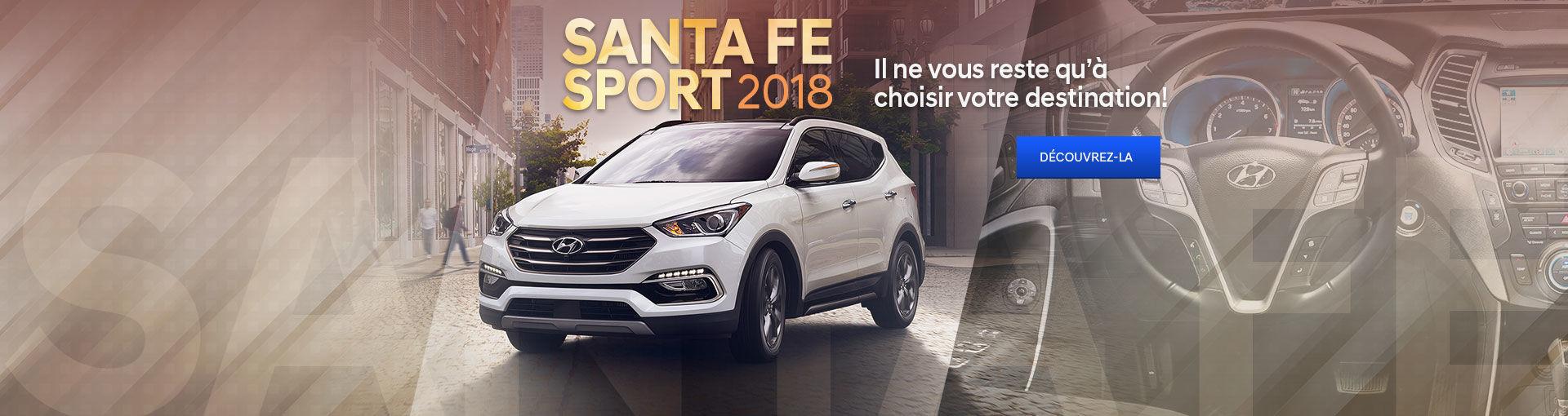 SantaFe Sport 2018