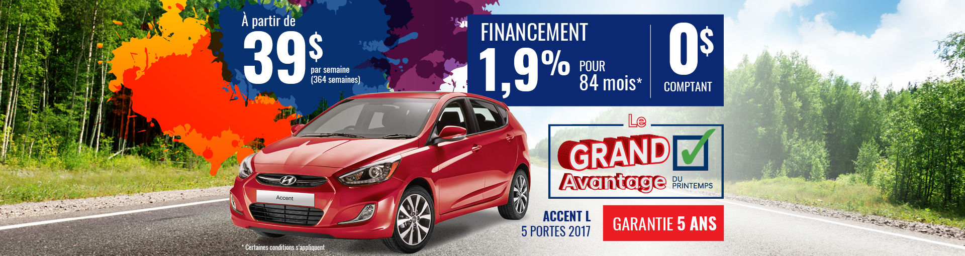 Promo Hyundai Casavant avril 2018-Accent L 2017 (Copie)