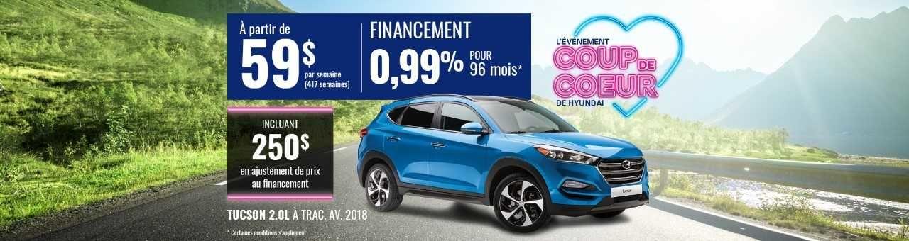 Promo Hyundai Casavant juillet 2018-Tucson 2018 pc